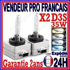 2 AMPOULE XENON D3S 35W HID 12V BULB LAMPE PK32d-5 42v 4300K 5000K 6000K 8000K