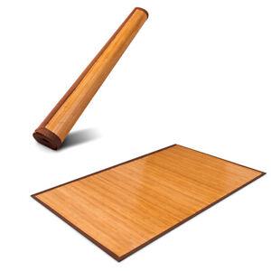 Bamboo Floor Carpet Area Rug Indoor Mat Water-Resistant Non-Slip 150cm x 240cm