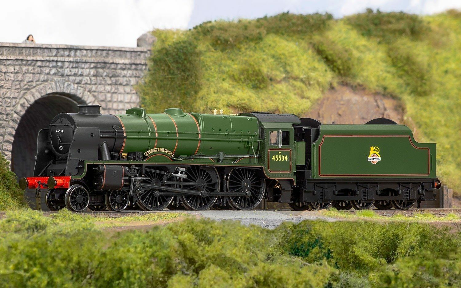 Hornby R3633 Early BR Rebuilt Patriot Class  E TOOTAL BROADHURST  DCC Ready NEW