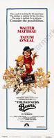 Bad News Bears Movie Poster Insert 14x36 Replica