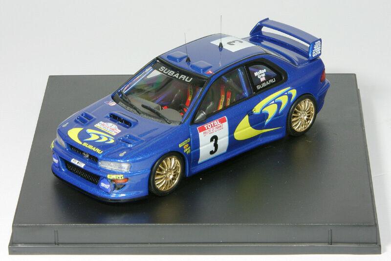 1 43 subaru impreza wrc-Colin McRae-rallye tour de Corse 1998-trofeu 1130