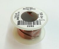 18 Gauge Insulated Magnet Wire, 1/4 Pound Roll (50' Approx. Length) 18awg