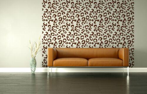Nursery Decor Animal Print Decor Leopard Print Wall Decal Nursery Wall Art