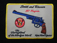 Smith And Wesson .357 Pre War Model Patch Large 4 Inch Free Shipping