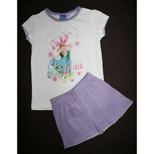 dfd40b99f8c98 DISNEY pyjashort LA REINE DES NEIGES 2-3 ans pyjama pyjacourt violet ...