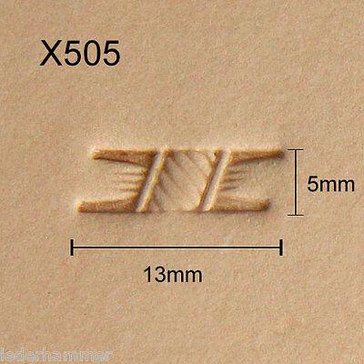 Punzierstempel Lederstempel O87 Leather Stamp Punziereisen