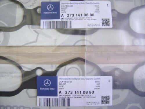 Gasket GL450 CLK500 CLK550 R500 G550 Mercedes Intake Manifold M273 V8 Engine