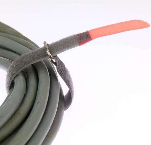 10 x Kabelklett Klettband 200 x 20 mm neon rot FK Klett Kabelbinder Klettbänder
