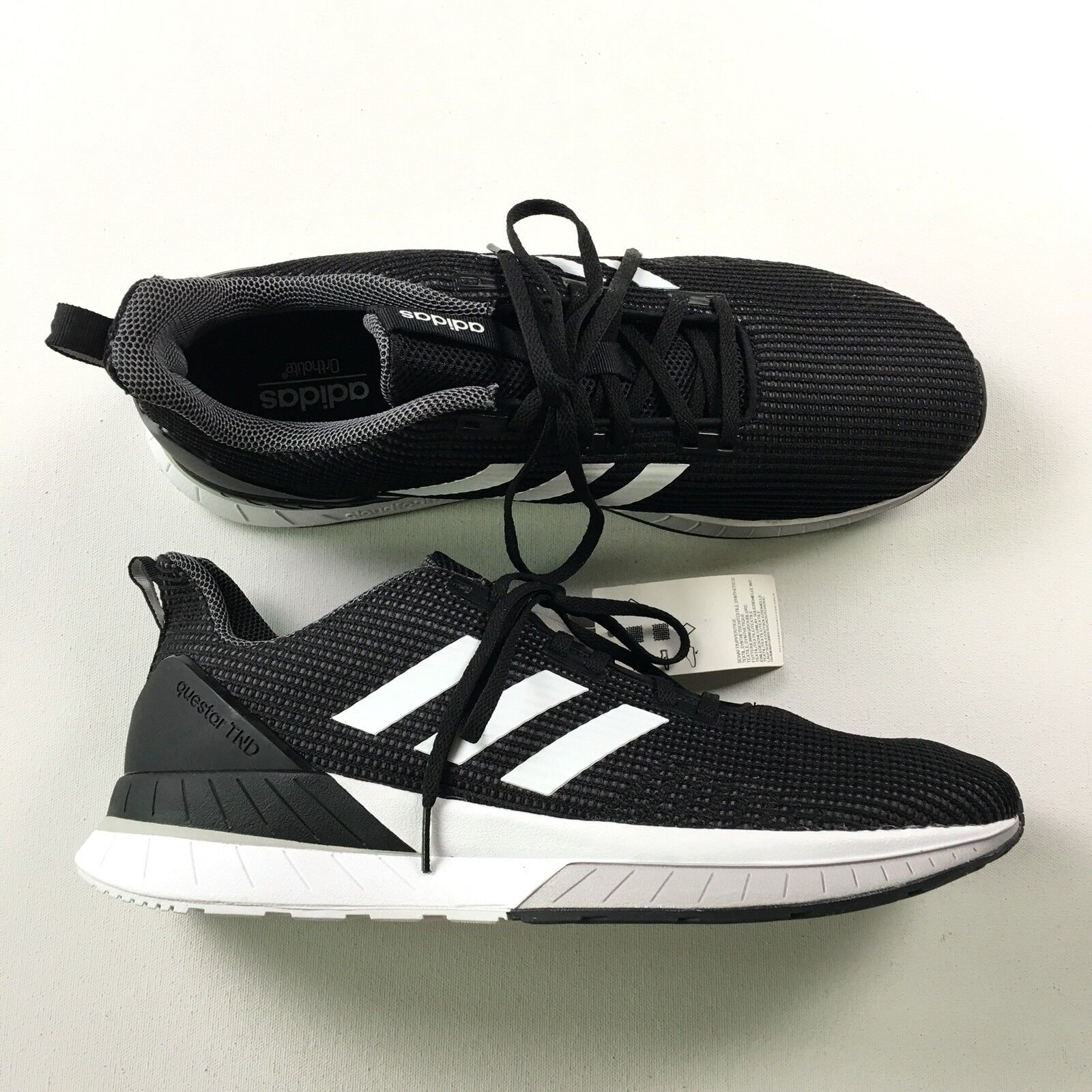 Adidas Herren 13 Questar Tnd Schwarze Lauftrainer 13 Herren Kunst DB1122 691c1d