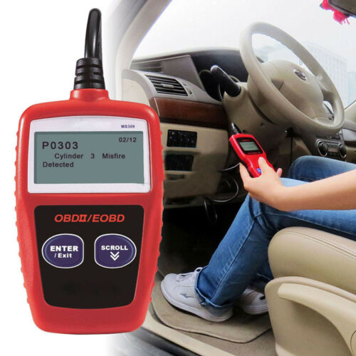 Check Engine Code Reader Light Auto Error For Cars Computer Scanner Obd II Truck