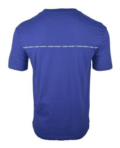 Details about  /MCQ HIGHEST ORDER BLUE /& WHITE PRINT LOGO T-SHIRT ALEXANDER MCQUEEN RARE