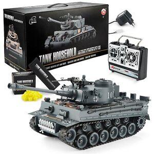 Ferngesteuerter RC Panzer German Tiger I R/C ferngesteuert Modellbau 1:16 RTR