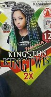 Jamaica Kinston Twist 12 Like Havana Mambo Crochet Braid Hair