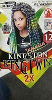 Jamaica Kinston Twist 12 Like Havana Mambo Crochet Braid Hair