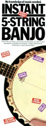 Compact Reference Library NEW 014016101 Instant 5-String Banjo