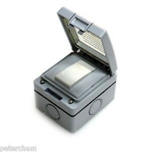 1-Gang-2-Way-IP56-Weatherproof-Outdoor-Light-Switch-10A-Garden-Lighting