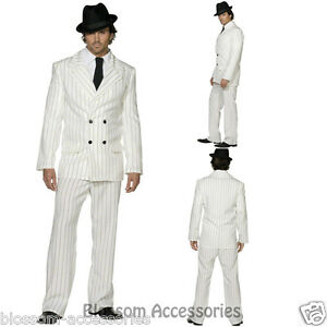 CL351-Mens-White-Gangster-20s-1920s-Pinstripes-Suit-Fancy-Dress-Mobster-Costume