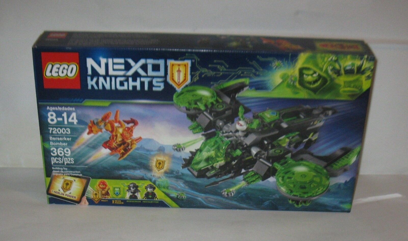 Lego Nexo Knights Berserker Bomber no no no 72003 MB  FREE SHIPPING 38282a