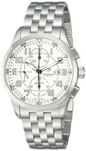 Swiss-Army-Airboss-Mechanical-Automatic-Chronograph-Steel-Mens-Watch-Date-241621