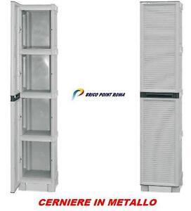 armadio mobile mobiletto in resina box per esterno terrazzo balcone