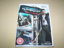 Dead Rising -Chop Till You Drop Wii **New and Sealed**.