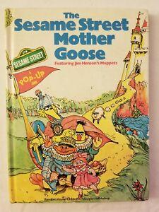 Details about Sesame Street Pop Up Mother Goose Book Random 1976 Vintage
