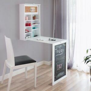 Wand Klapptisch Tisch klappbar Schreibtisch Wandklapptisch Regal ...
