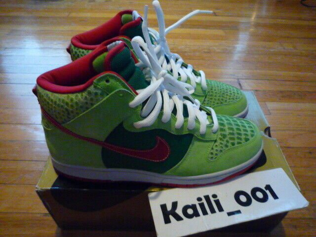 Nike Dunk High Pro Size 11.5 11.5 11.5 Worn Dr. Feelgood Used 305050-362 Supreme B 20fe90