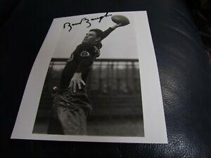 Sammy Baugh Autographed Photo JSA Auction Certified