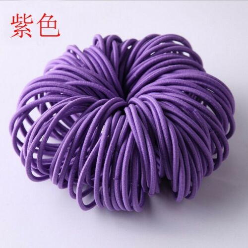 100x Lot Kids Girl Elastic Rope Hair Ties Ponytail Holder Head Band Hairbands SL