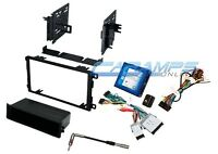 Single Din Car Stereo Radio Dash Kit With Bose & Onstar Interface Wire Harness