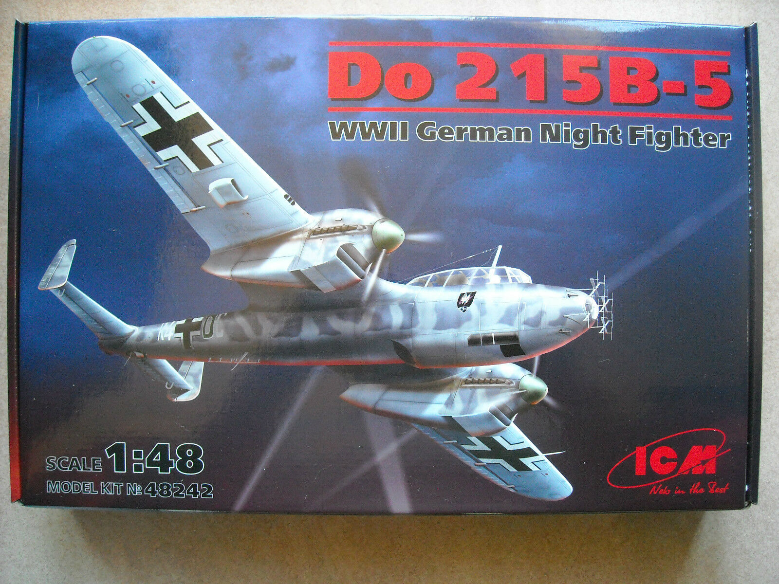 ICM-1 48- DO215 B-5 WWII GERMAN NIGHT FIGHTER