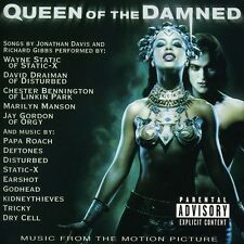 Queen of the Damned [Orginal Motion Picture Soundtrack] [PA] by Various Artists (CD, Feb-2002, Warner Bros.)