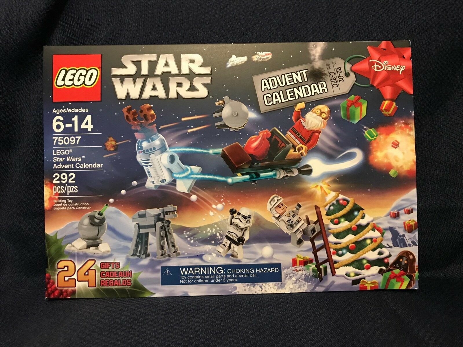LEGO Star Wars 75097 Advent Calendar C3PO Santa NEW SEALED