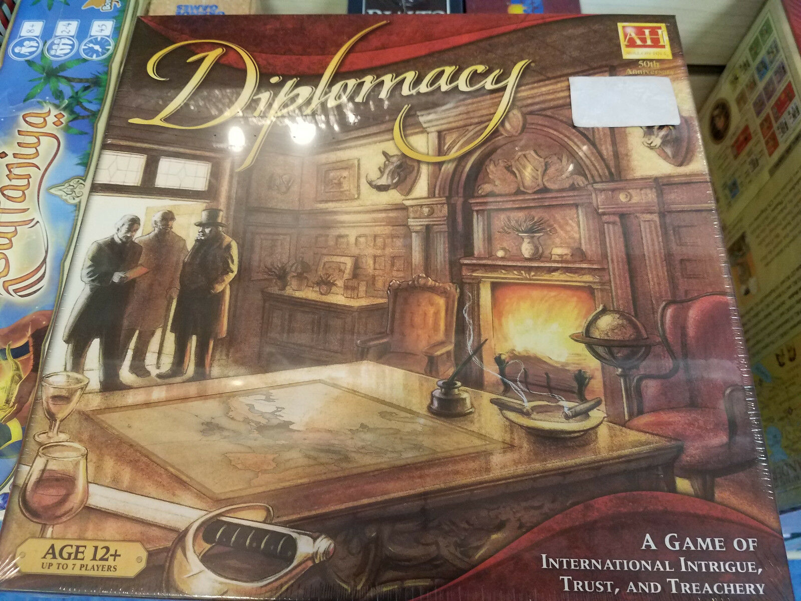 Diplomacy - Avalon Hill Games Board Game New