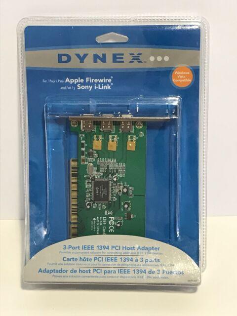 DYNEX EXPRESSCARD FIREWIRE WINDOWS 10 DRIVERS