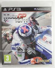 jeu MOTO GP 10/11 sur PS3 playstation 3 en francais game spiel juego bike TBE