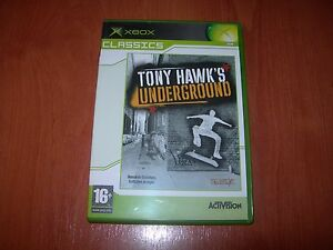 TONY HAWK´S UNDERGROUND XBOX CLASSICS (PAL ESPAÑA MUY BUEN ESTADO)