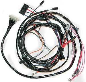1963 corvette engine wiring harness without a c ebay rh ebay com c3 corvette engine wiring harness c3 corvette engine wiring harness