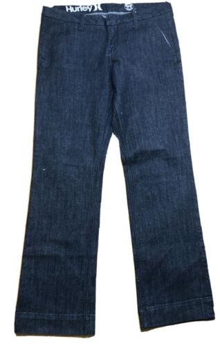 Hurley | 99 Low Rider Jeans | Dark Wash Blue (Size