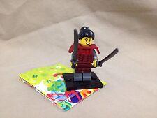 Lego Minifigure Series 13 Figure Samurai New Loose with Online Code 71008