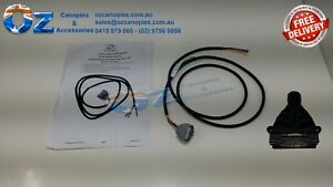 Excellent Toyota Camry 1993 2006 Plug In Towbar Trailer Wiring Loom Wiring Cloud Nuvitbieswglorg