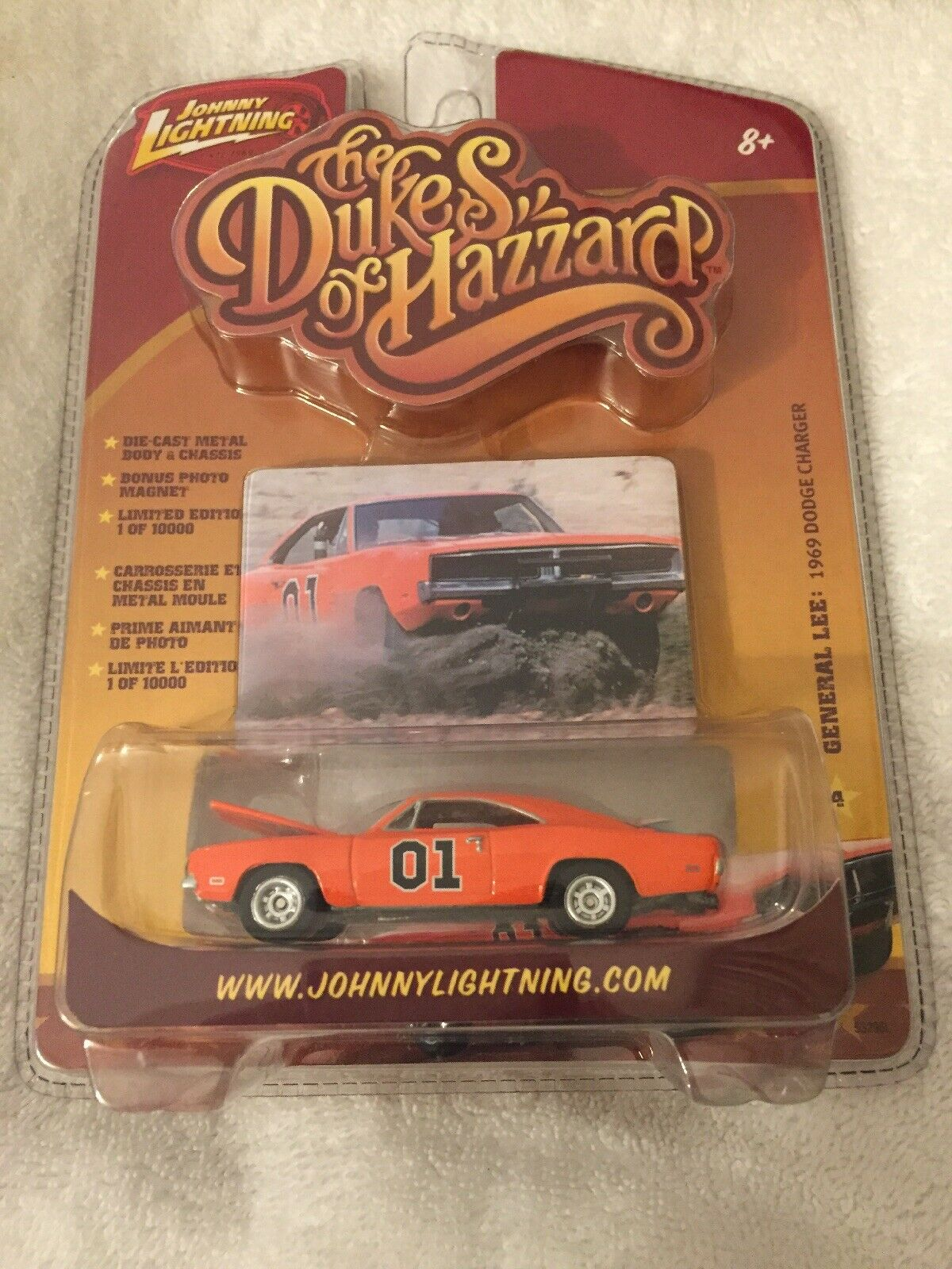 1969 Dodge Charger General Lee Johnny Lichtning Dukes of Hazzard General Lee 01