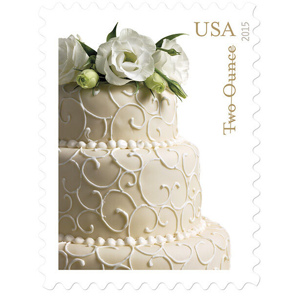 2015 71c Wedding Cake, Special Issue Scott 5000 Mint F/