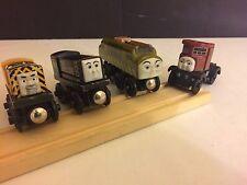 5 Piece Thomas the Train Diesel Engines & Track Set Brio Compatible Elizabeth +