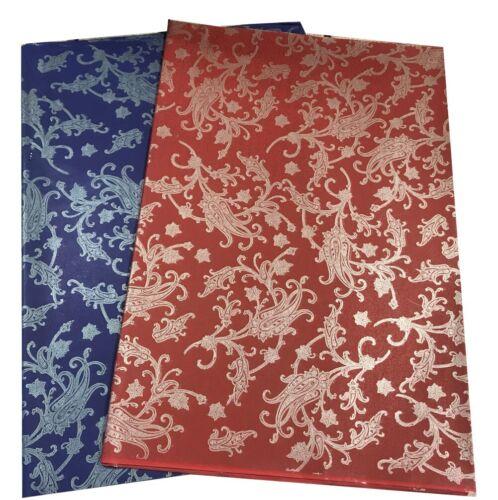 Foil Present Cello Gift Wrap Sheets 50x70cm Luxury Wrapping Paper 25 Sheet Pk