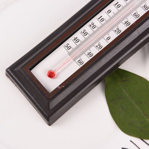 Indoor//Outdoor Wall Office Laboratory Home Garage Temperature Thermometer HIC LL
