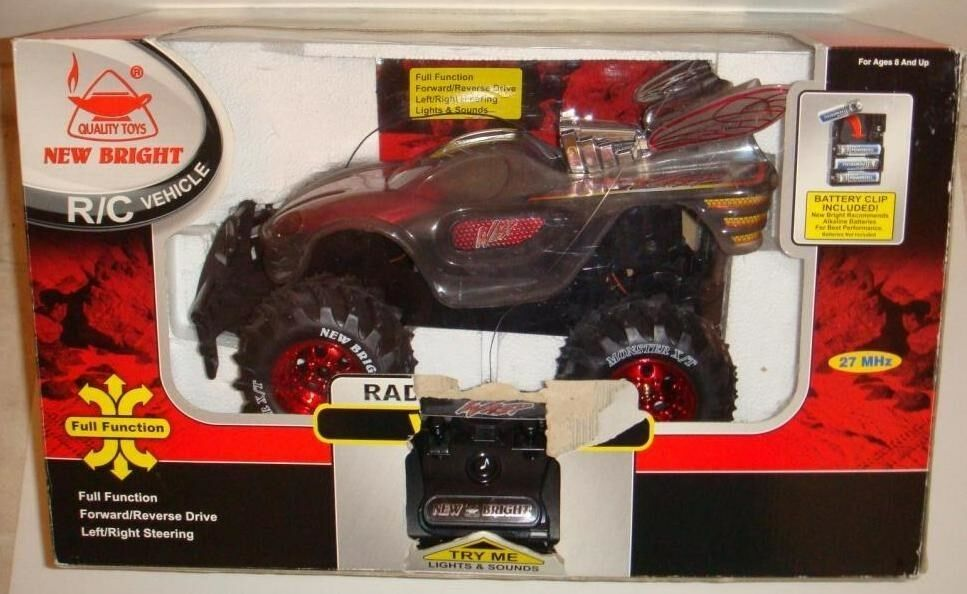 Nuovo Bright  WASP  27mhz RC Vehicle w/Box