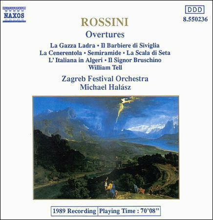 1 of 1 - ROSSINI: OVERTURES  NAXOS **NEW CD**