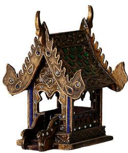 25cm-Buddha-Tempel-Geisterhaus-Schrein-Erdgeister-Geisterhaeuschen-Thailand